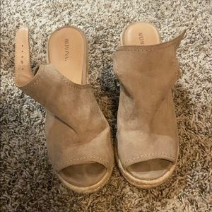 Wedge heels from target